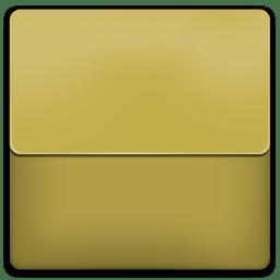 Yellow Plastic Folder icon