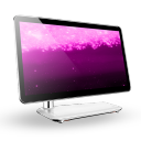 Computer Violet Ring icon