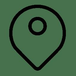 Map Pin Icon Minimal Outline Iconset Praveen S