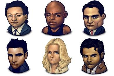 Organic Heroes Icons