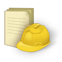 Document construction icon