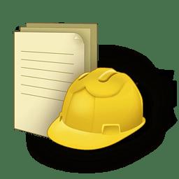 Document construction icon