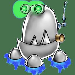 Robot trash icon