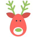 Reindeer deer icon