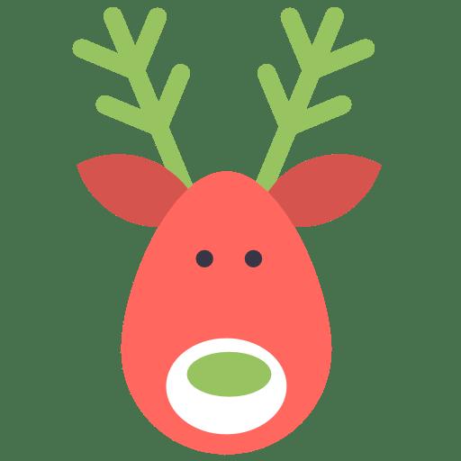 Reindeer-deer icon