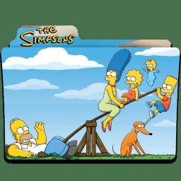 Simpsons Folder 10 icon