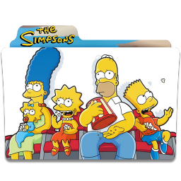 Simpsons Folder 17 icon