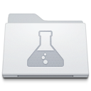 Folder Developer White icon