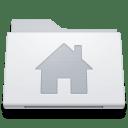 Folder-Home-Alternate-White icon