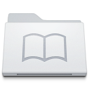 Folder Library White icon