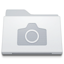 Folder Pictures White icon