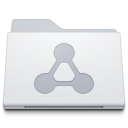 Folder Sharepoint White icon