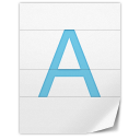 General-Font icon
