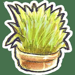 G12 Flowerpot Grass icon