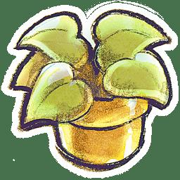 G12 Flowerpot Plant icon
