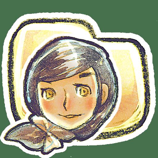 G12-Folder-Girl icon