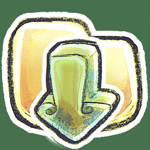 G12 Folder LoadDown icon