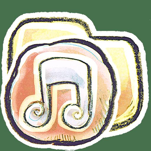 G12-Folder-Music icon