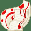 Folder-White-document icon