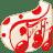 Folder White music icon