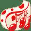 Folder-White-music icon
