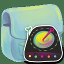 Folder-Disk icon