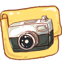 Hp folder camera photo icon