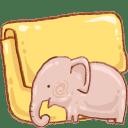 Hp folder elephant icon