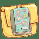 Hp folder notebook 2 icon