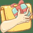 Hp folder share icon