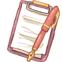 Hp notepad icon
