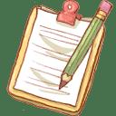 Hp notepad2 pencil icon