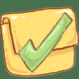 Hp folder finished icon