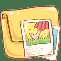 Hp folder photo 2 icon