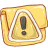 Hp folder caution icon