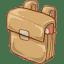 Hp schoolbag icon