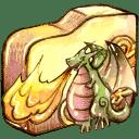 Folder-burn-2 icon
