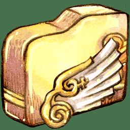 Folder angelwing icon