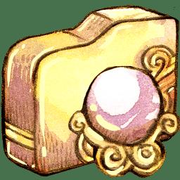 Folder orb whitemagic icon