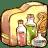 Folder art of chemistry icon