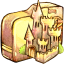 Folder-castle icon