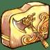 Folder-axe icon