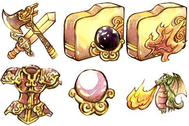 Legendora Icons