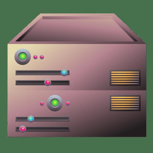Server-bronze icon