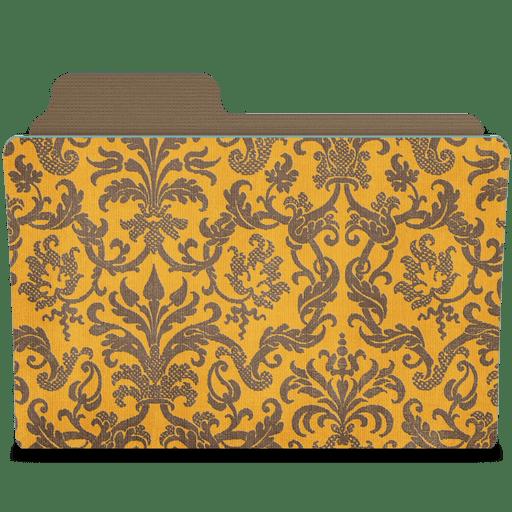 Folder-damask-tangeriny icon