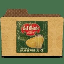 Del monte grapefruit jus icon
