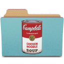 Warhol campbells can icon