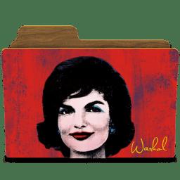 Warhol jackie icon