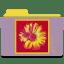 Warhol-daisy icon