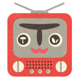 Terebi Ojisan Flat icon